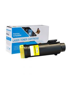 Compatible DELL 593-BBOZ Yellow Toner Cartridge