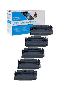 Compatible Canon 041 Toner Cartridges - 5 pack