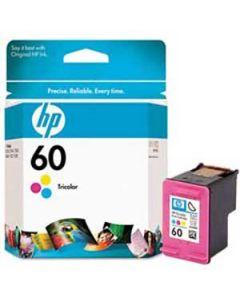 Genuine HP 60 Color Ink Cartridge (CC643WN)