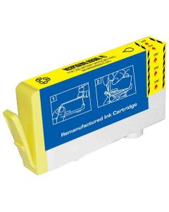KLM Remanufactured HP 935XL Yellow Ink Cartridge (C2P26AN)