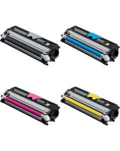 Set Compatible Konica Minolta A0V301F A0V30HF A0V30CF A0V306F Color Toner Cartridges