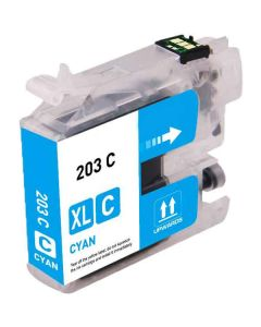 Compatible Brother LC201C Cyan Ink Cartridge