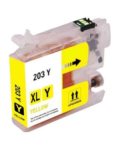 Compatible Brother LC201Y Yellow Ink Cartridge