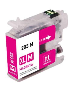 Compatible Brother LC203M Magenta Ink Cartridge
