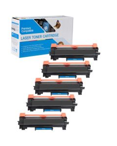 Compatible Brother TN730 Toner Cartridges - 5 pack