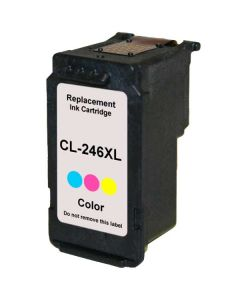 KLM Remanufactured Canon CL-246XL Color Ink Cartridge