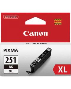 Genuine Canon CLI-251XL Black Ink Cartridge