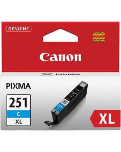 Genuine Canon CLI-251XL Cyan Ink Cartridge