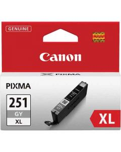 Genuine Canon CLI-251XL Gray Ink Cartridge