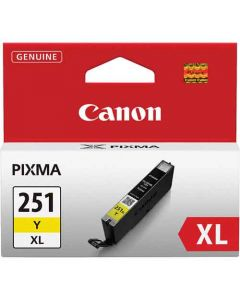 Genuine Canon CLI-251XL Yellow Ink Cartridge
