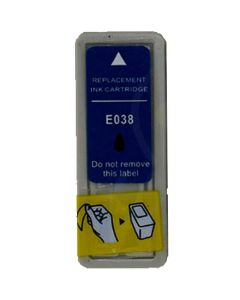 KLM Remanufactured Epson T038 Black Ink Cartridge (T038201)