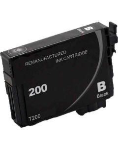 KLM Remanufactured Epson T200 Black Ink Cartridge (T200120)