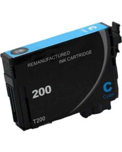 KLM Remanufactured Epson T200 Cyan Ink Cartridge (T200220)