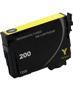 KLM Remanufactured Epson T200 Yellow Ink Cartridge (T200420)