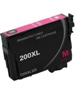 KLM Remanufactured Epson T200XL Magenta High Yield Ink Cartridge (T200XL320)