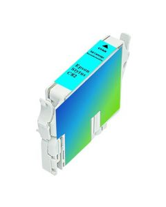 KLM Remanufactured Epson T0422 Cyan Ink Cartridge (T042220)