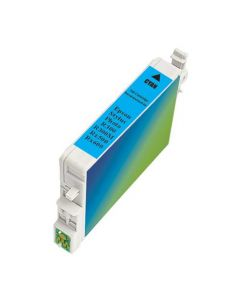 KLM Remanufactured Epson T0482 Cyan Ink Cartridge (T048220)