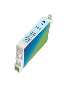 KLM Remanufactured Epson T0485 Light Cyan Ink Cartridge (T048520)