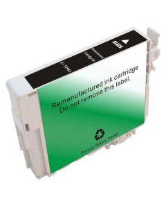 KLM Remanufactured Epson T0981 Black Ink Cartridge (T098120)