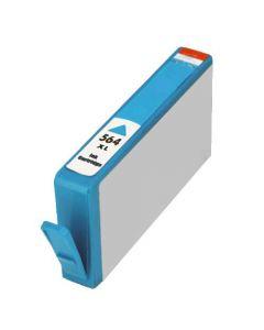 KLM Remanufactured HP 564XL Cyan Ink Cartridge (CB323WN)