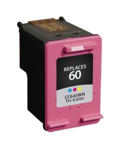 KLM Remanufactured HP 60 Tri-color Ink Cartridge