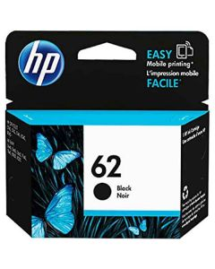 Genuine HP 62 Black Ink Cartridge (C2P04AN)