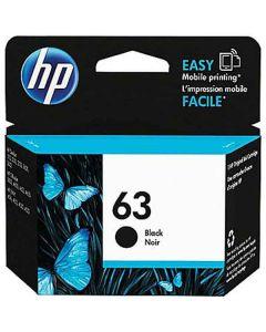 Genuine HP 63 Black Ink Cartridge (F6U62AN)