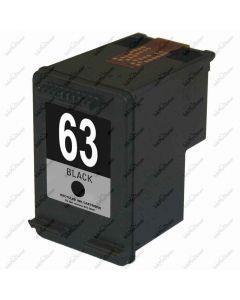 KLM Remanufactured HP 63 Black Ink Cartridge (F6U62AN)