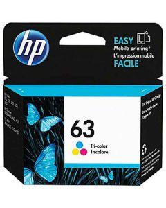 Genuine HP 63 Color Ink Cartridge (F6U61AN)