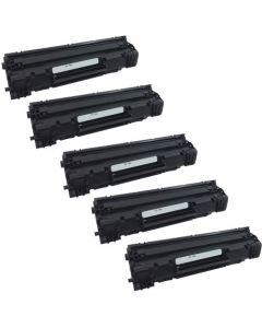 Compatible HP 78A Toner Cartridges (CE278A) - 5 pack