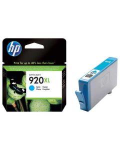 Genuine HP 920XL Cyan Ink Cartridge (CD972AN)
