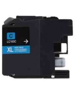Compatible for Brother LC103C Cyan Ink Cartridge
