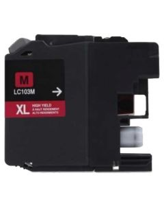 Compatible for Brother LC103M Magenta Ink Cartridge