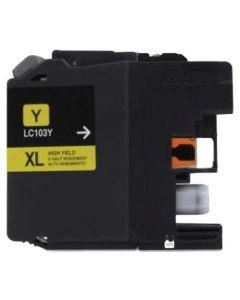 Compatible for Brother LC103Y Yellow Ink Cartridge