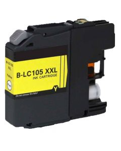Compatible Brother LC105Y Yellow Ink Cartridge Super High Yield
