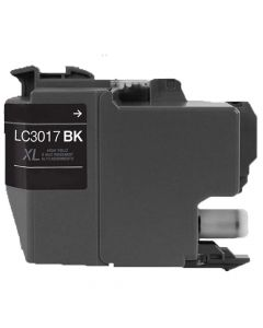 Brother LC3017Bk Black Compatible Ink Cartridge