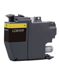 Brother LC3019Y Yellow Compatible Ink Cartridge