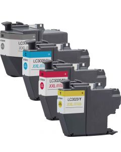 Compatible Brother LC3029 Ink Cartridge - 4 Color Brother LC3029BCMY Inkjet Cartridges