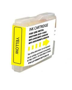 Compatible Brother LC51Y Yellow Ink Cartridge
