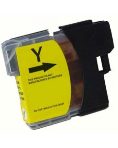Compatible Brother LC65HYY Yellow Ink Cartridge