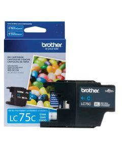 Genuine Brother LC75C Cyan Ink Cartridge