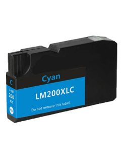 Compatible Lexmark 200XL Cyan Ink Cartridge (14L0175)