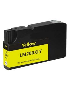 Compatible Lexmark 200XL Yellow Ink Cartridge (14L0177)