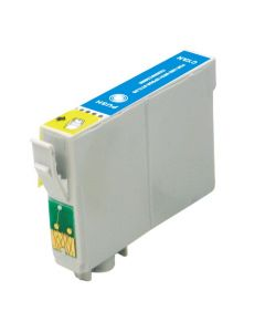 KLM Remanufactured Epson T0782 Cyan Ink Cartridge (T078220)