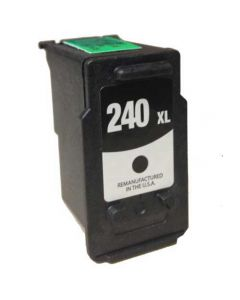 KLM Remanufactured Canon PG-240XL Black High Yield Ink Cartridge