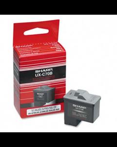 Genuine Sharp UX-C70B Black Ink Cartridge