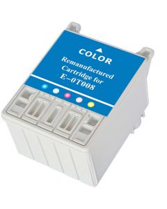KLM Remanufactured Epson T008 Color Ink Cartridge (T008201)
