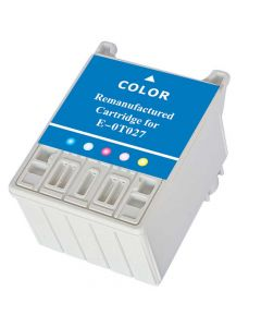 KLM Remanufactured Epson T027 Color Ink Cartridge (T027201)