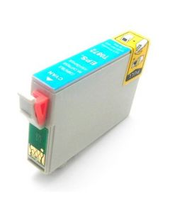 KLM Remanufactured Epson T0872 Cyan Ink Cartridge (T087220)
