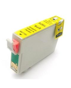 KLM Remanufactured Epson T0874 Yellow Ink Cartridge (T087420)